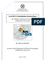 14051827 ArcGIS 92 Installation Instructions