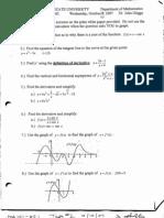 Ma 141 Sample Test 2