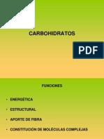 PRESENTACIÓN CARBOHIDRATOS