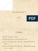 Lecture Note 9 (Ch12)