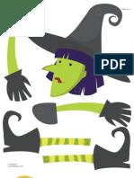 bruxa para halloween