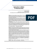 Agriculture in Malta - A Historical Note