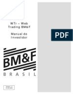 Web Trading BM&F - Manual Do Invest Id Or