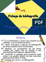 Fichaje de Bibliografía