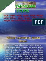 Power Point Htan Hujan Tropis