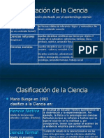 Clasificación de la Ciencia (2)