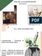 HISTORIA DE LA CLASIFICACIÓN biológica