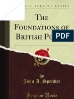 The Foundations of British Policy - 9781451013719