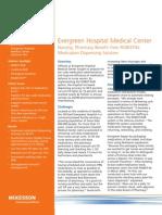 Nursing, Pharmacy Benefit from ROBOT-Rx Medication Dispensing Solution