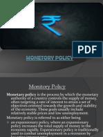 Monetory Policy