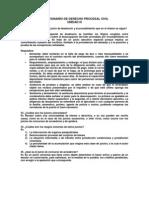 rio de Derecho Procesal Civil Unit 3
