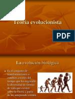 Teoría evolucionista