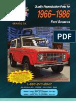66-86 Ford Bronco Cat
