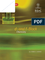 Pdf chemistry and f d block