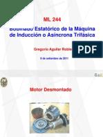 Bobinado Estatórico de la Máquina de Inducción o Asíncrona Trifásica