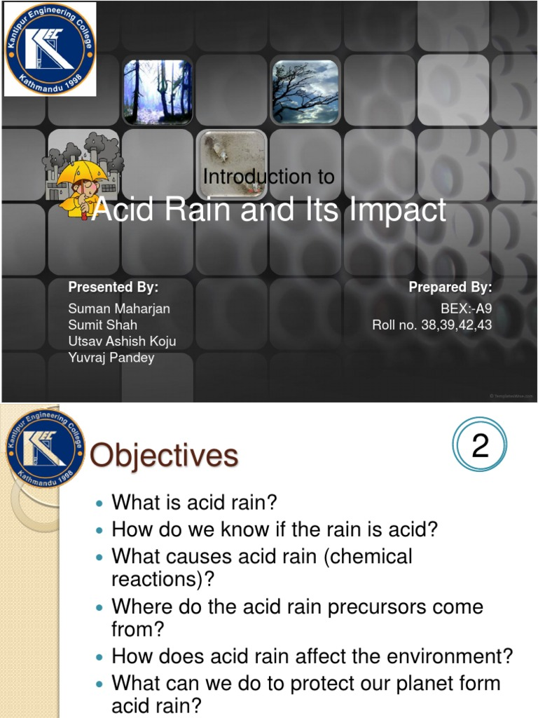 acid rain introduction