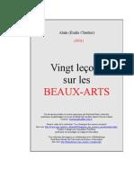 7258415 20 Lecons Beaux Arts
