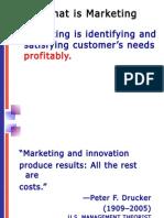 Marketing Planning & Marketing Oriented Strategic Planning