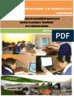 """La modalidad b-learning y su incidencia en el aprendizaje de la asignatura de Contabilidad General en el Instituto Tecnológico """"Rumiñahui"""" de la ciudad de Ambato RESUMENEJECUTIVO"""