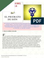 -- El Priorato de Sion - Leyendas de Templarios