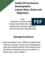 Model Pembangunan Kurikulum Group 07
