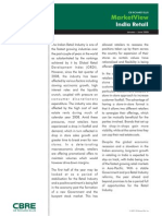 Cbre India Retail Market View - h1, 09