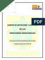 Guia Para El Funcionamiento Del Comite Para La Deteccion y Prevencion de Las Infecciones Nosocomiales Del Hospital General o'Horan