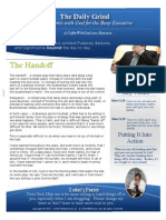 The Handoff - The Daily Grind - Devotional For Men