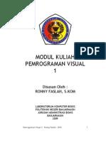 Modul Pemrograman Visual 1 2011