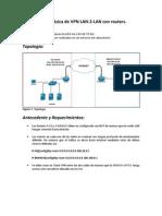 Configuración básica de VPN LAN-2-LAN (routers)