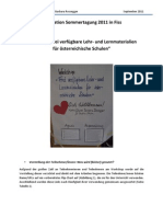 """Workshop """"Frei verfügbare Lehr- und Lernmaterialien  für österreichische Schulen"""""""