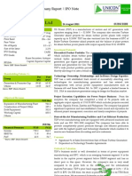 TD Power Systems Ltd - IPO Note
