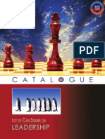 Leadership Case Studies Catalogues