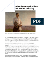 The Agape Obedience and Failure of a Socialist Realist Painting