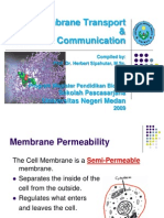 Membrane Communication