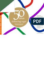 Buku Dies Natalis 50 Tahun Fikom Unpad