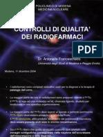 Franceschetto IIa controlli qualità radiofarmaci
