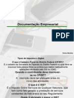 Documentacao empresarial