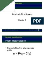 Market Structures 2
