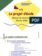 Projet Ecole Remiremont