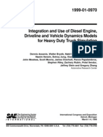 Integration and Use of Diesel Engine,