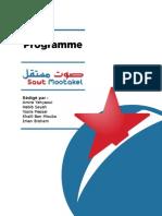 Sawt Mostakel - Programme complet