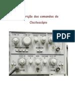 Botes e Comandos Do Osciloscpio