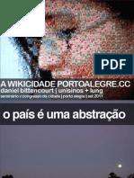 Wikicidade   V Congresso Da Cidade