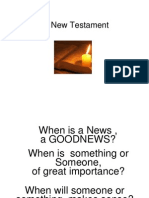 12. the New Testament Social Loc and the Gospels