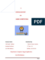Seminar on Grid Computing