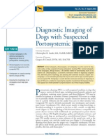 Diagnostic Imaging of Dogs With Suspected Por to Systemic Shunting