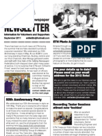 Enfield Talking Newspaper Newsletter - September 2011