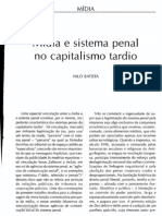 Mídia e sistema penal no capitalismo tardio