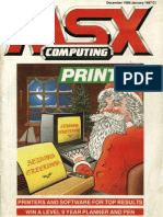 MSX Computing - Dec 1986-Jan 1987